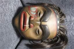 Northwest Coast Carved Mask
