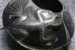 Jesus Quezada Blackware Pottery Vase