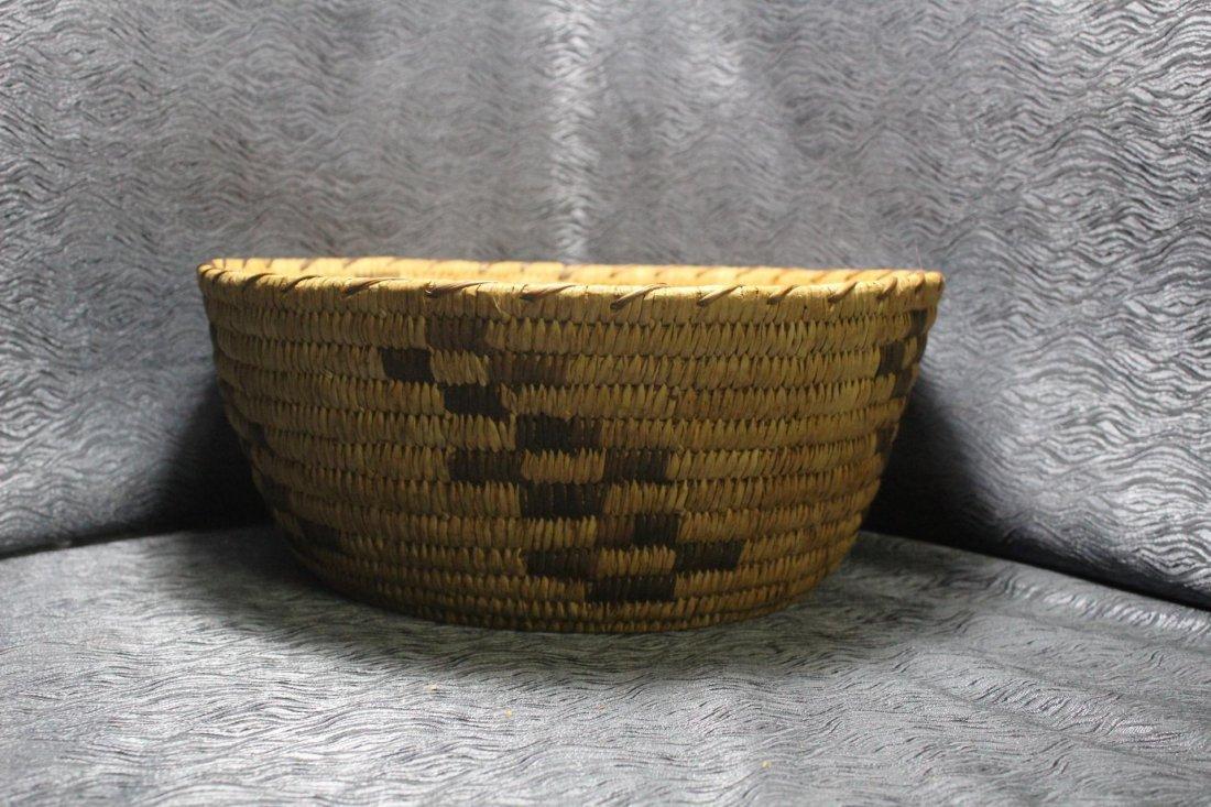 Large Native American Woven Basket