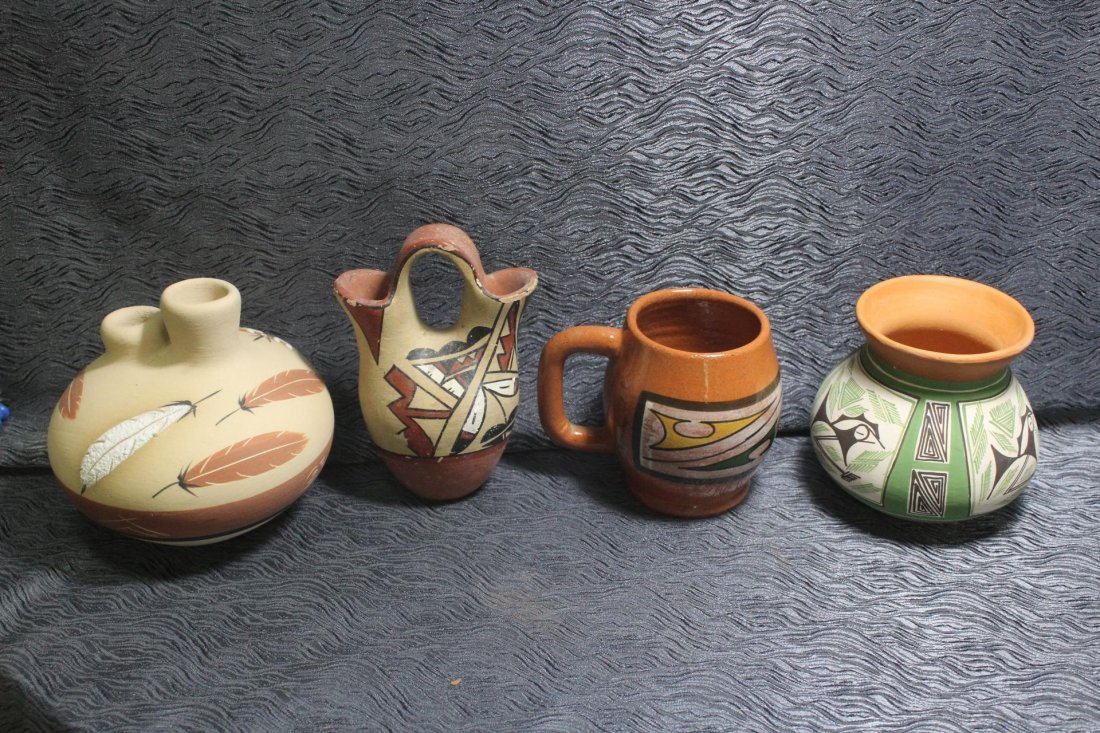 4 Pieces of Southwestern Pottery