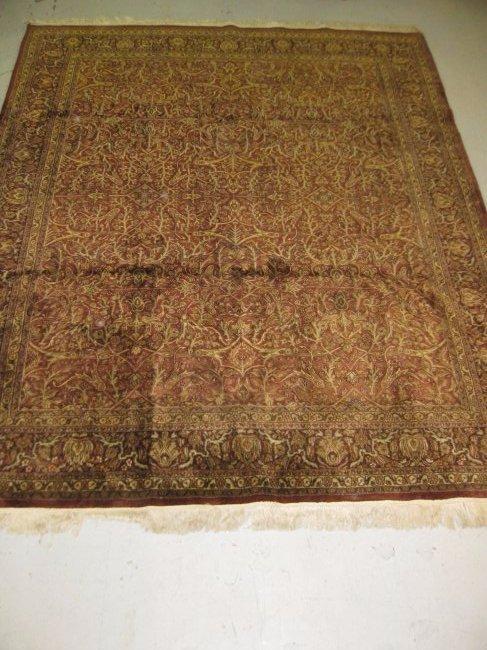 "Masterloom Handcrafted Wool India 121"" x 98"""