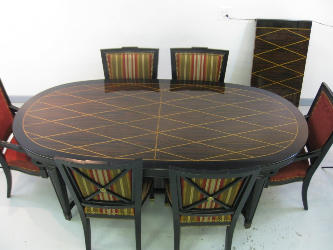 Henredon Dining Room table and 8 chairs