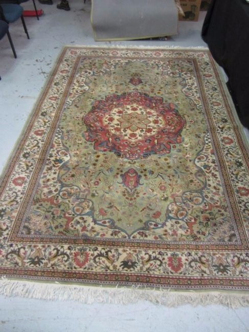 Wool Persian Style Rug Made in Kenya