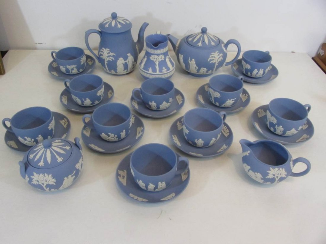 Wedgwood Jasperware Tea Set