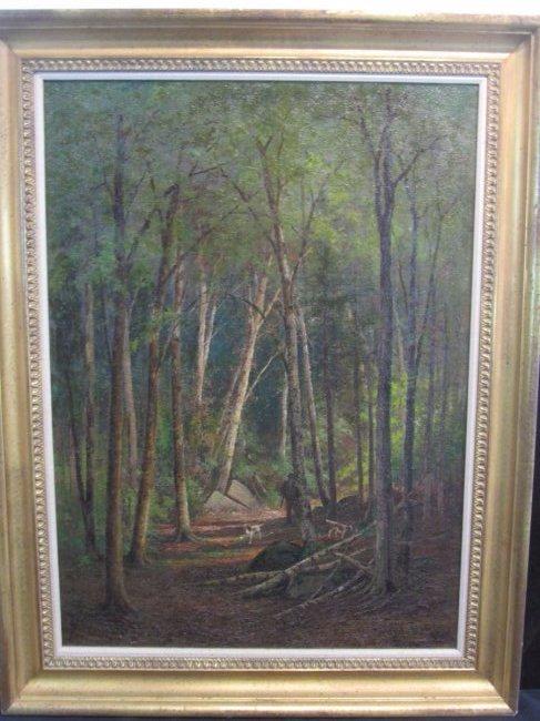 Edward Hill Oil on Canvas