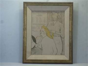 Henri Toulouse Lautrec French (1864 - 1901 )