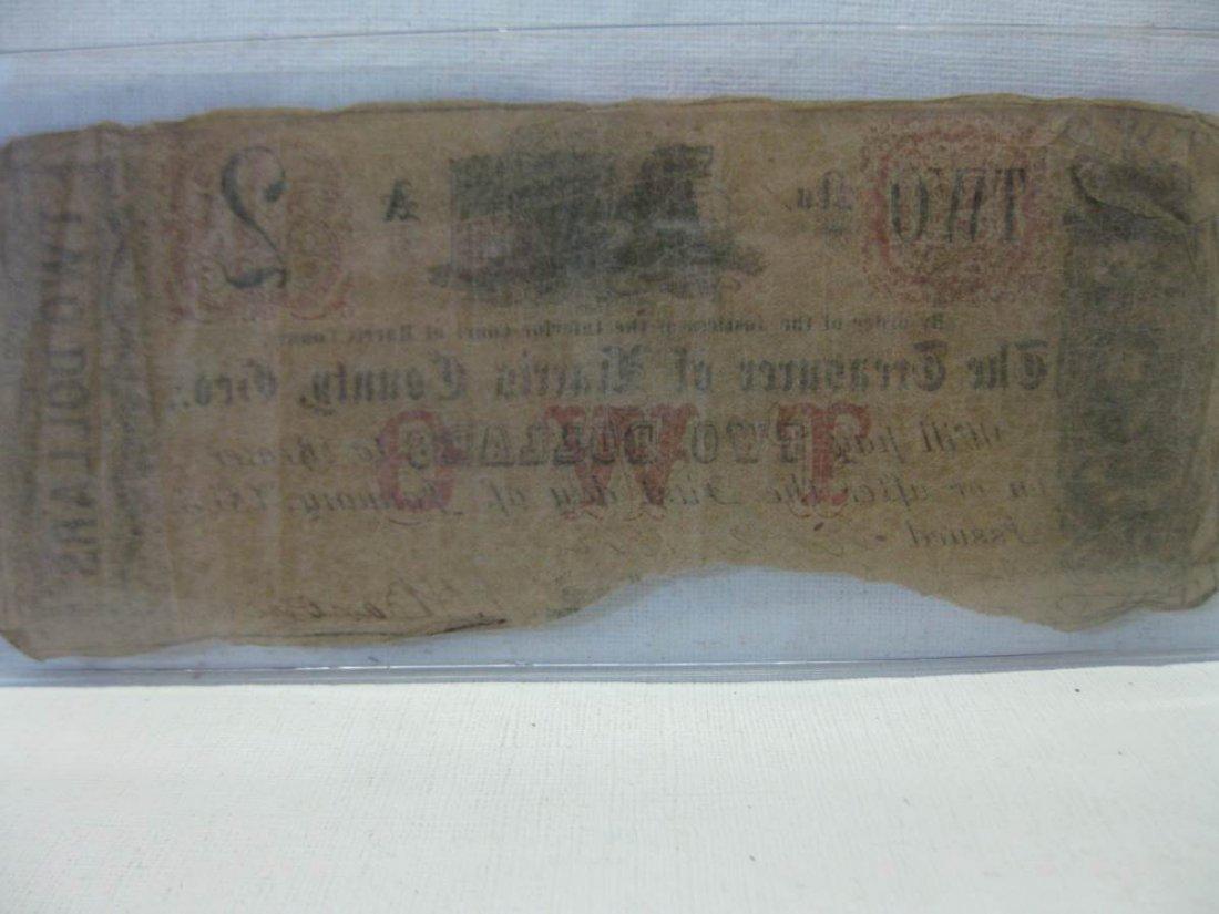 Rare Unlisted Harris County Georgia Confederate $2.00 - 3