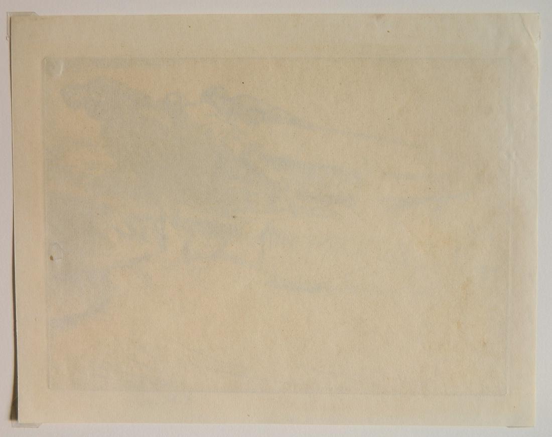 Edmund Blampied drypoint - 4