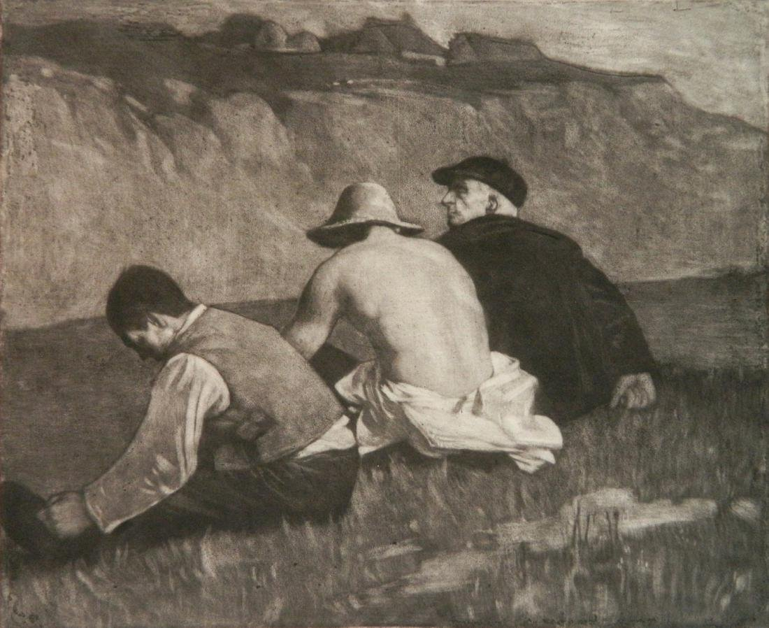 William Strang lithograph