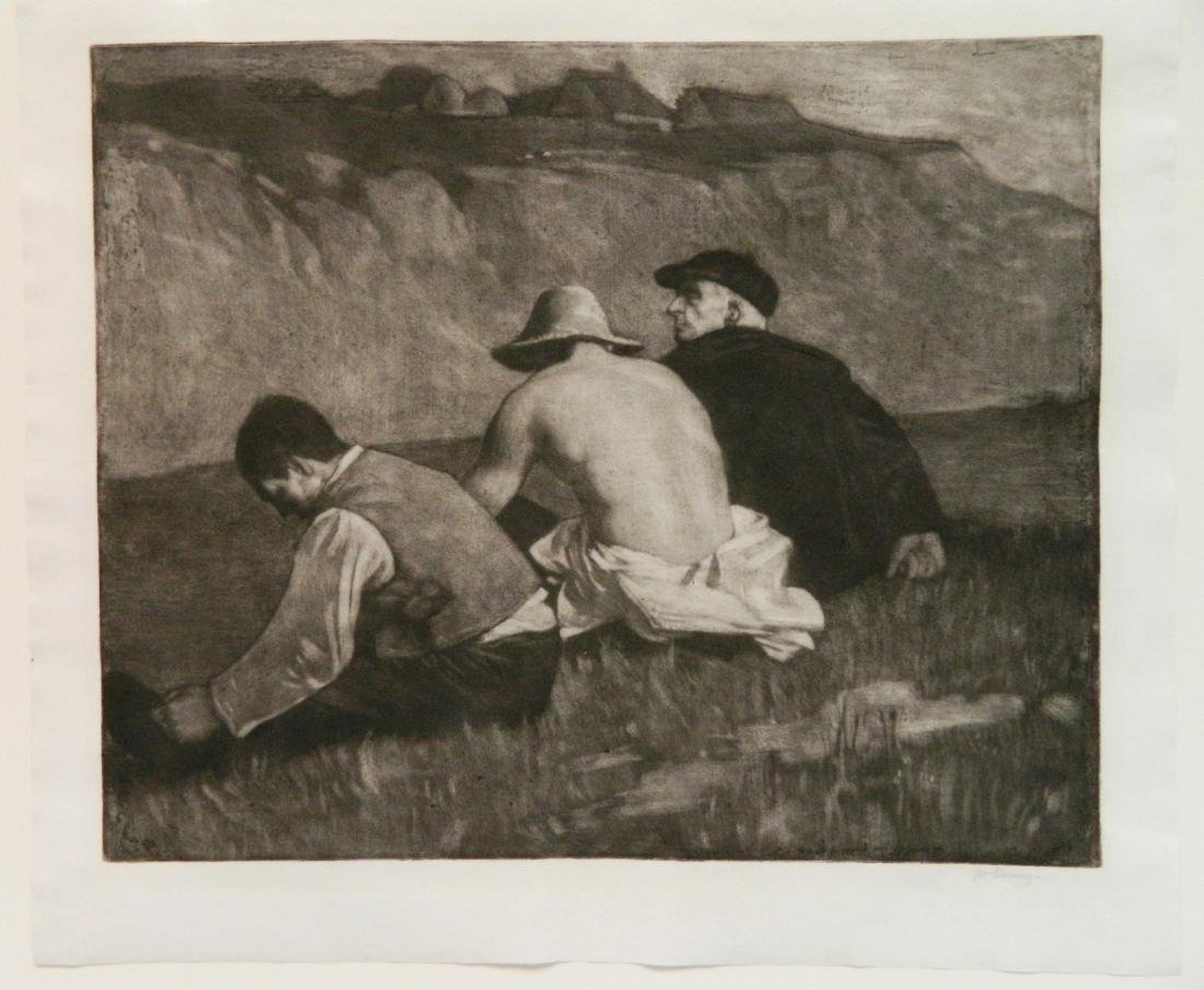 William Strang lithograph - 2
