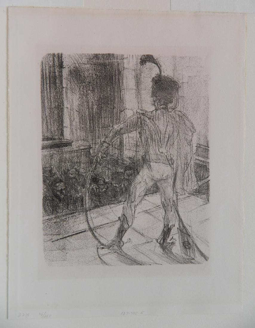 Henri de Toulouse-Lautrec lithograph - 2
