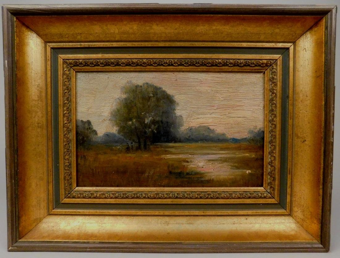 19th c. American School oil - 2