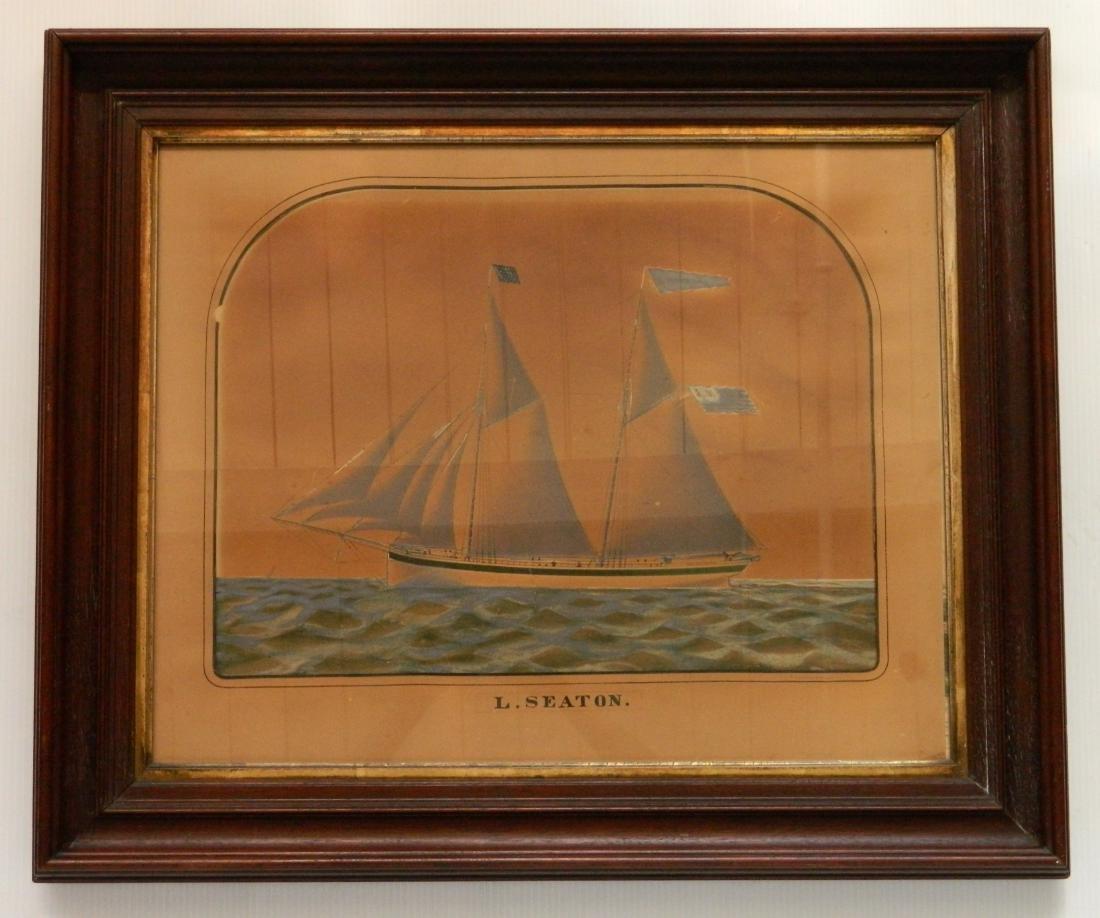 Charles W. Norton watercolor and graphite - 3