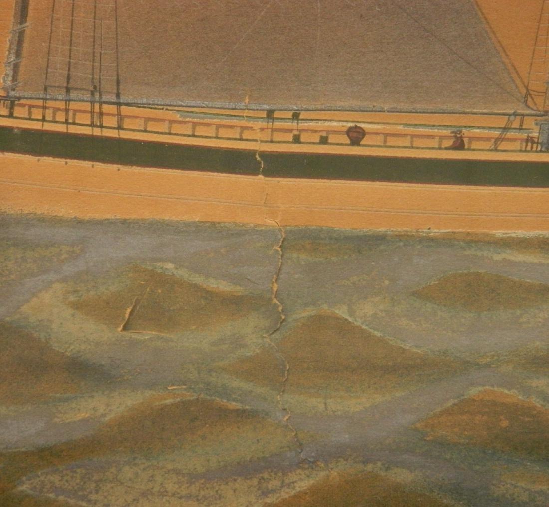 Charles W. Norton watercolor and graphite - 4