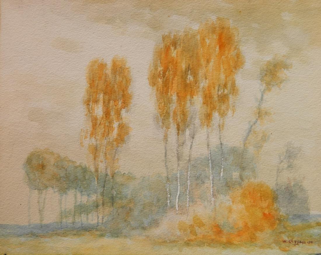 William Clusmann watercolor