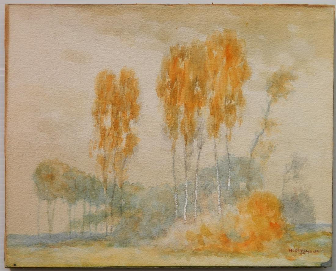 William Clusmann watercolor - 2