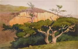 William S. Rice watercolor