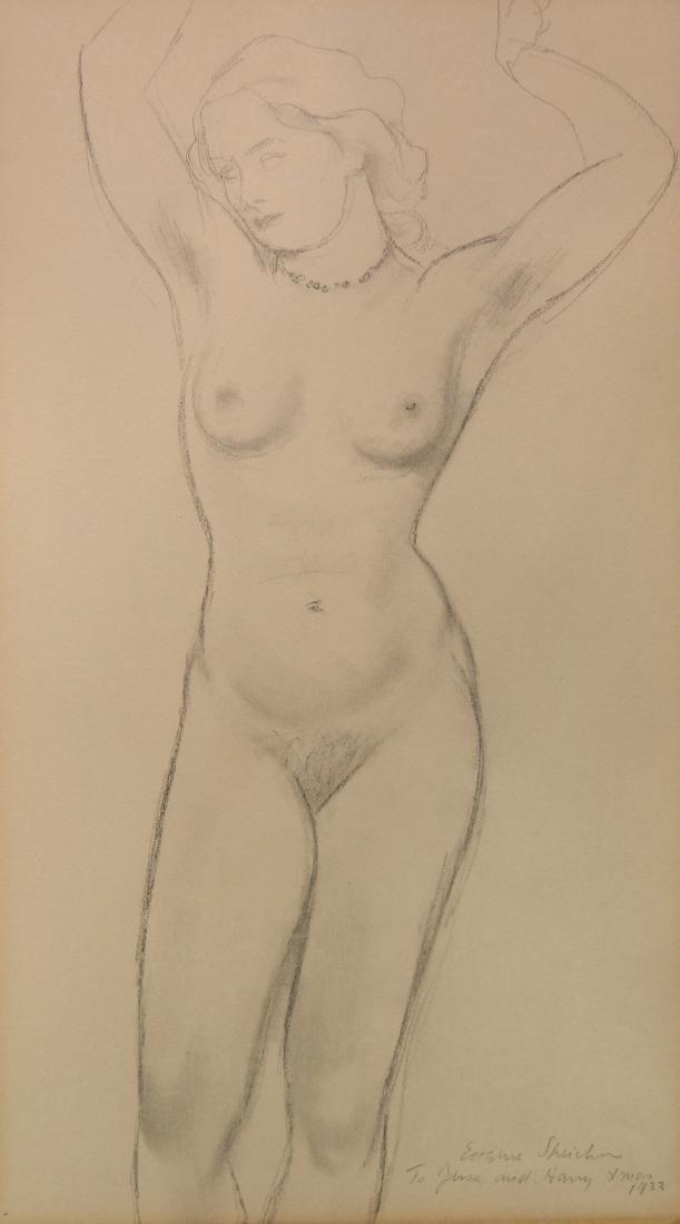 Eugene Speicher graphite