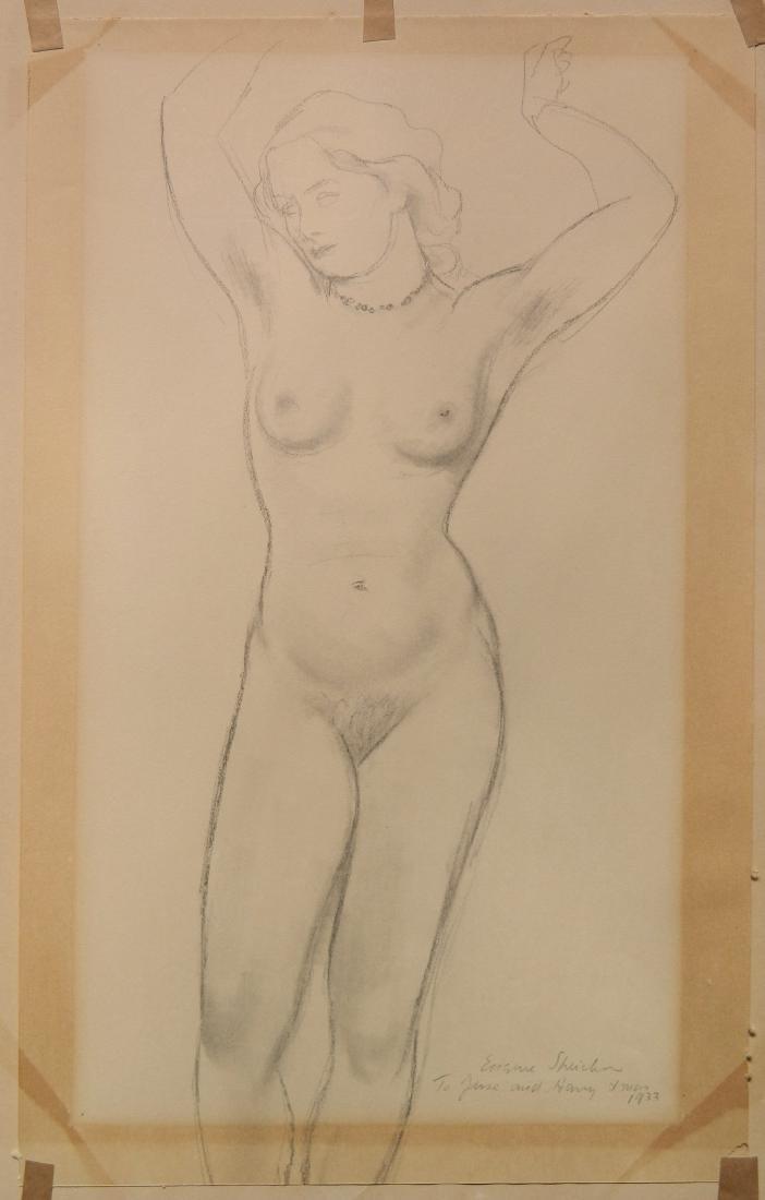 Eugene Speicher graphite - 2
