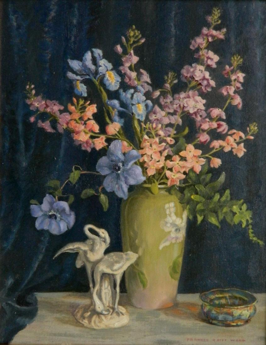 Frances Raiff Wood oil