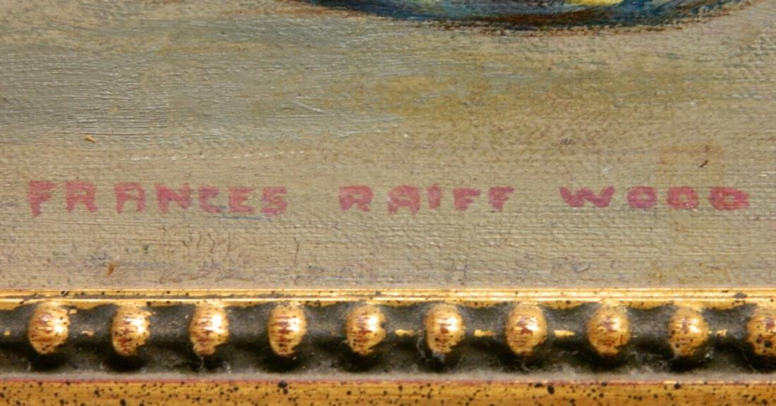 Frances Raiff Wood oil - 3