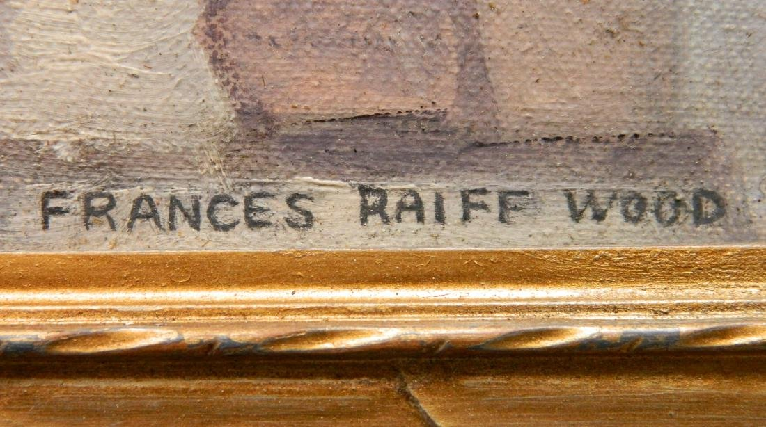 Frances Raiff Wood oil - 3