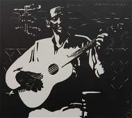 Frank H Anderson woodcut
