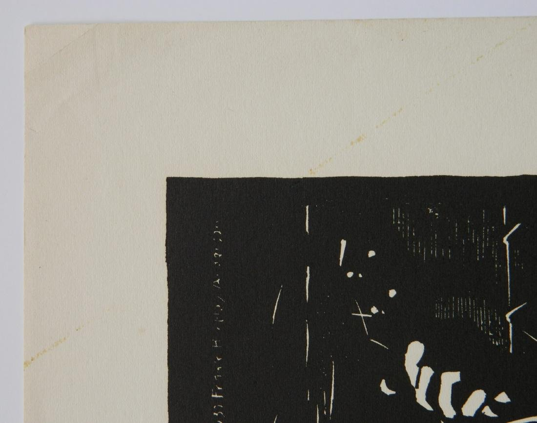 Frank H. Anderson woodcut - 5