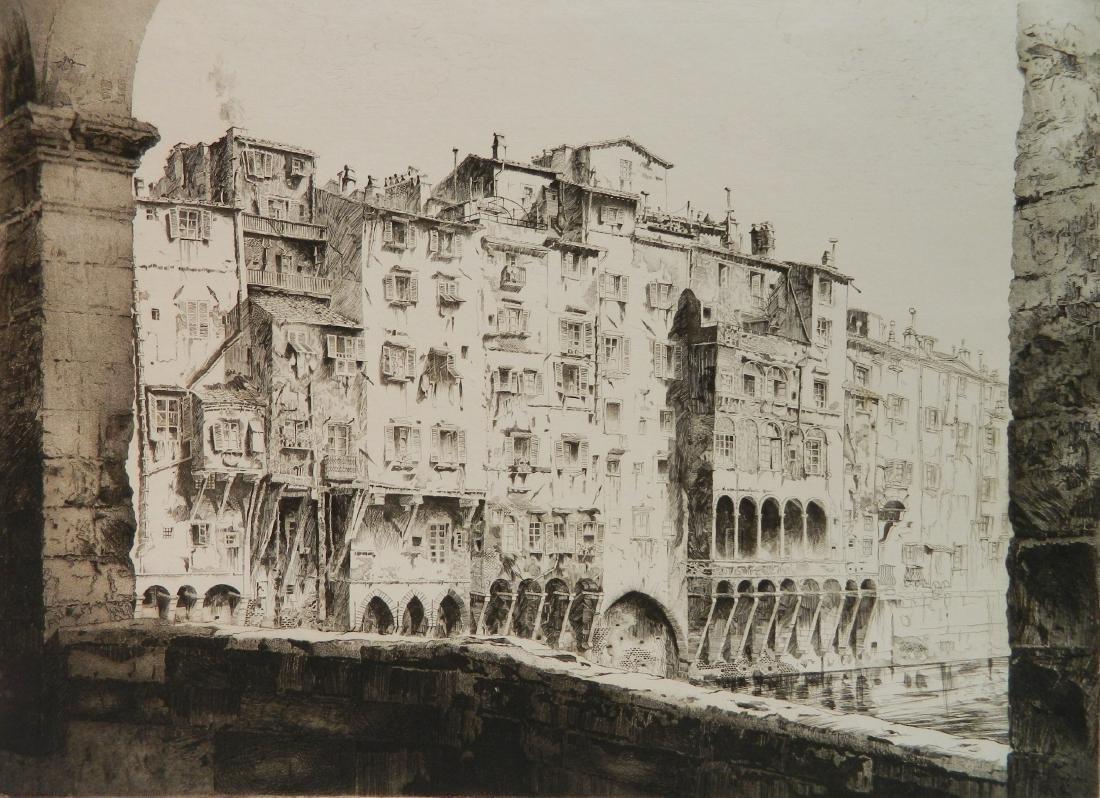 John Taylor Arms etching and aquatint