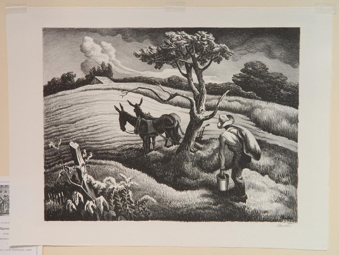 Thomas Hart Benton lithograph - 2