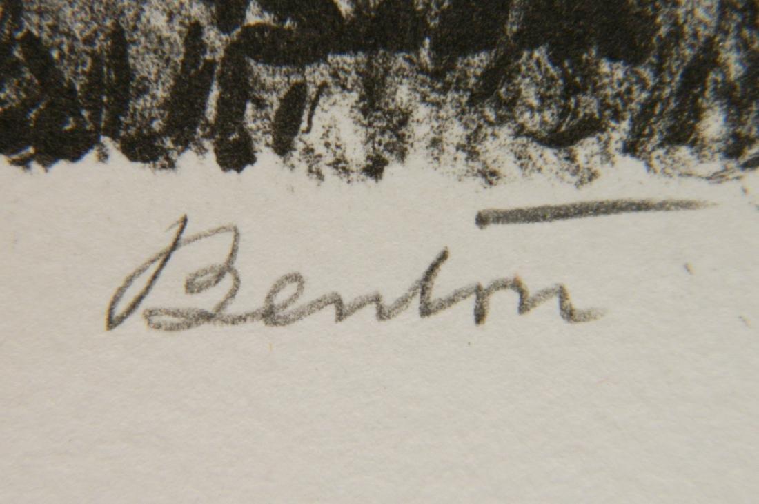 Thomas Hart Benton lithograph - 3