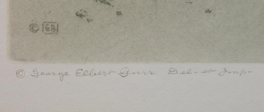 George Elbert Burr aquatint - 3