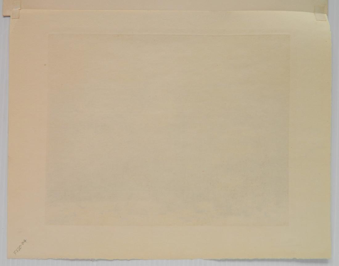 George Elbert Burr etching - 4