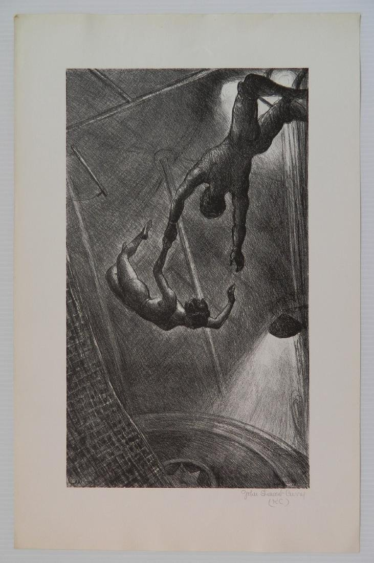 John Steuart Curry lithograph - 2