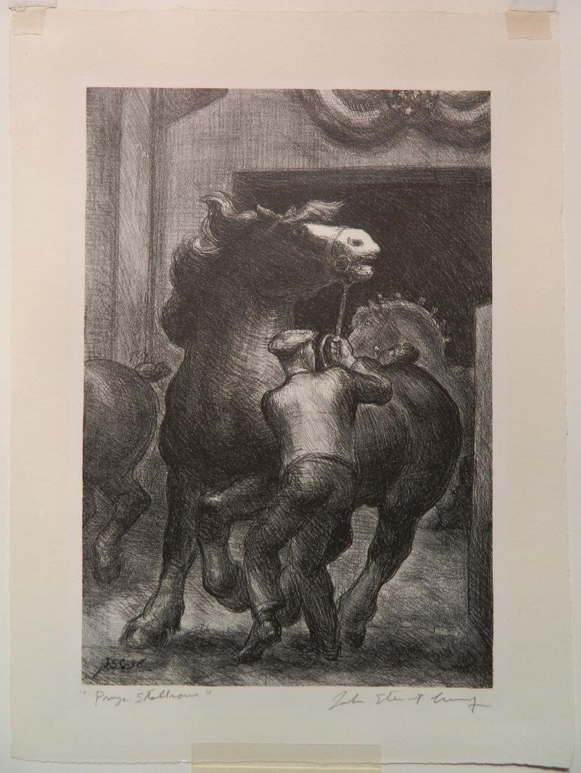 John Steuart Curry lithograph - 2