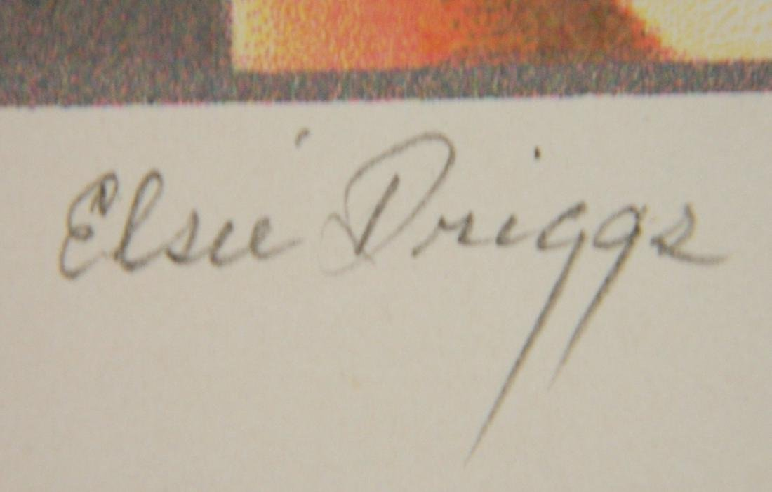 after Elsie Driggs off-set lithograph - 3
