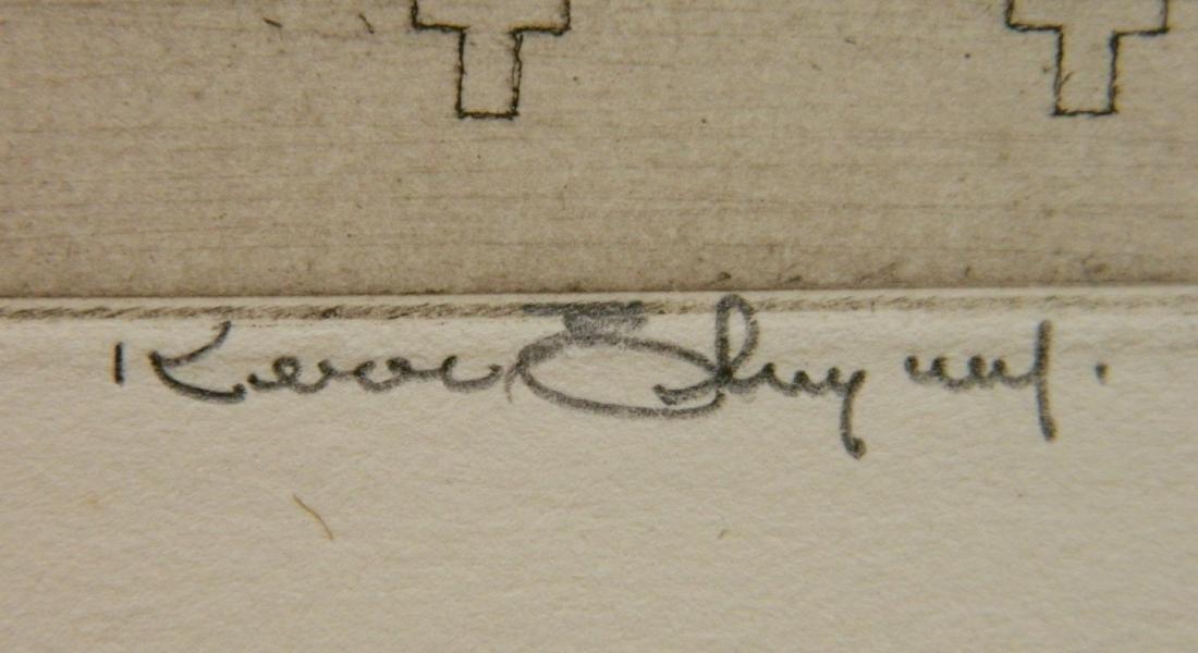 Kerr Eby etching - 4