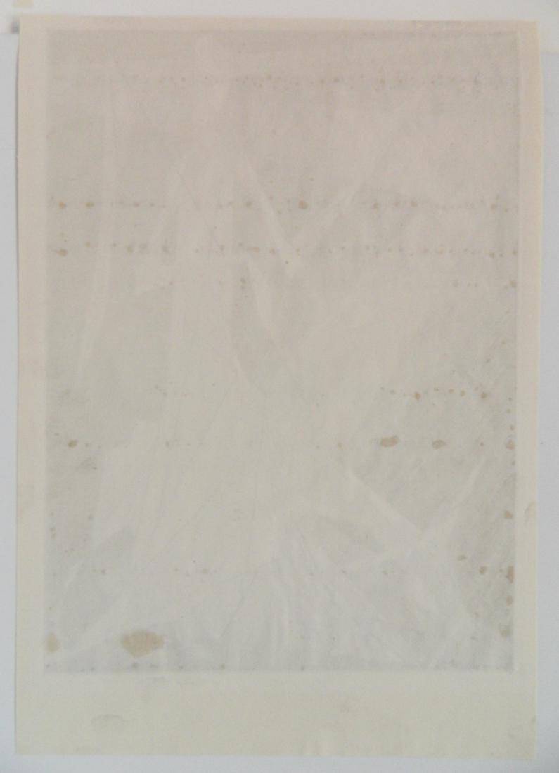 Isaac Friedlander etching - 4