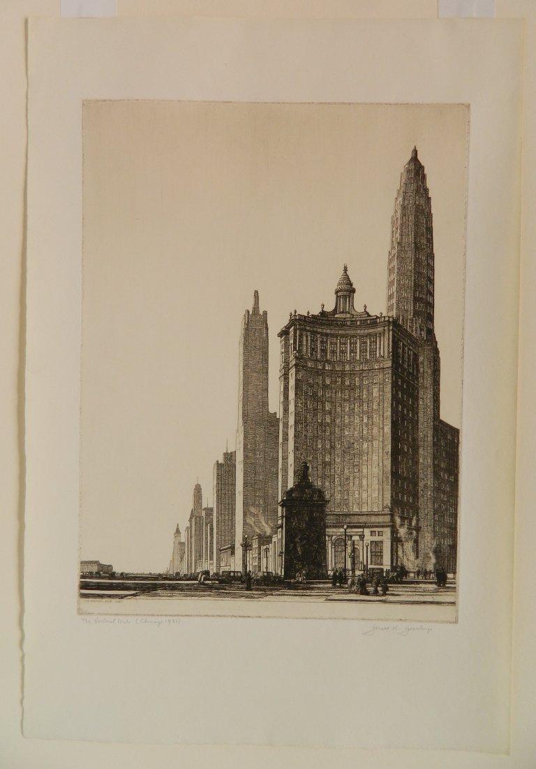 Gerald Geerlings etching - 2