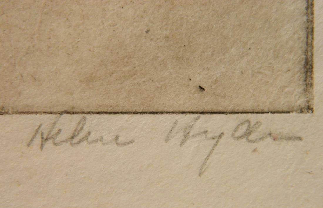 Helen Hyde etching - 3