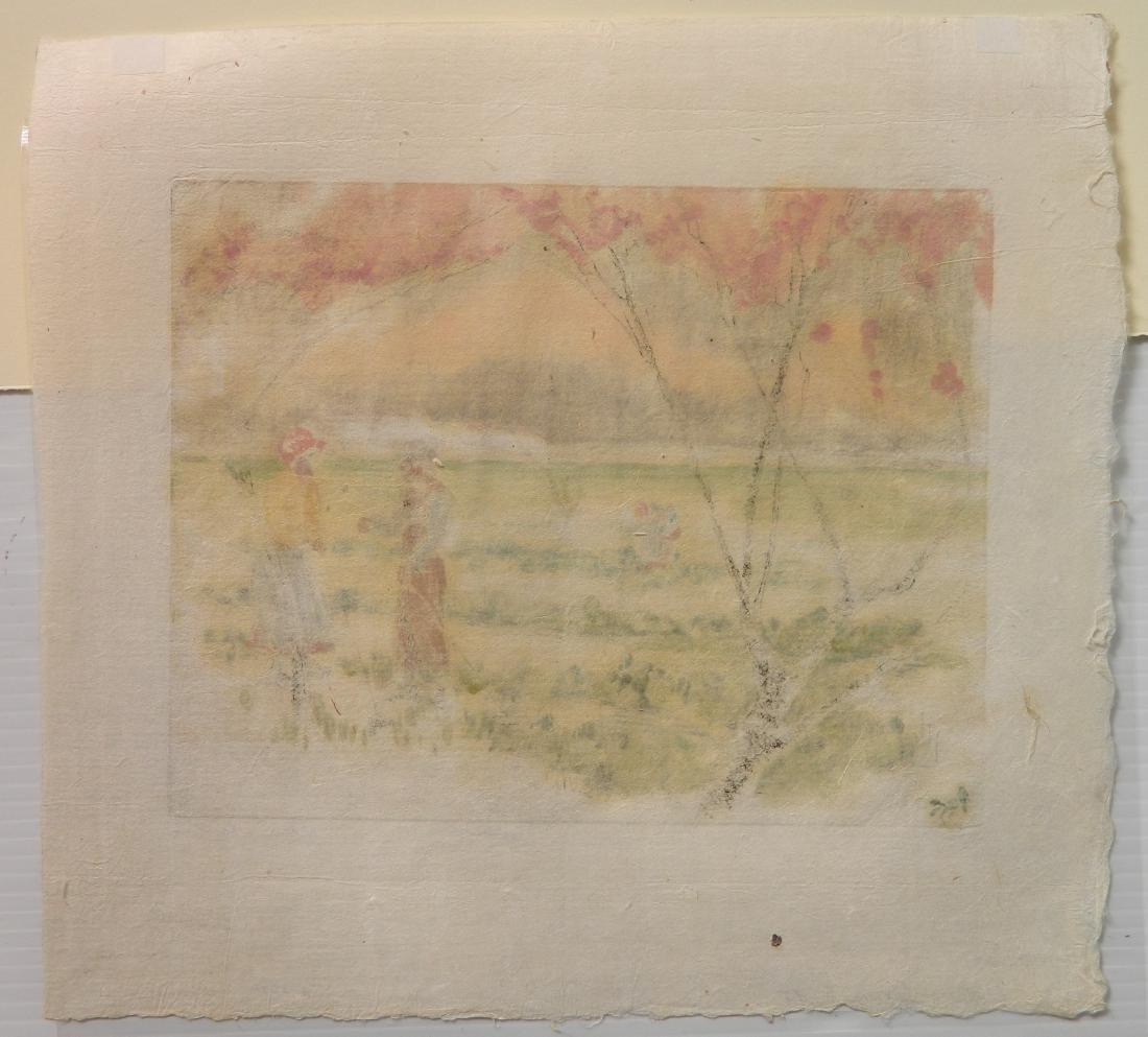 Helen Hyde etching - 4