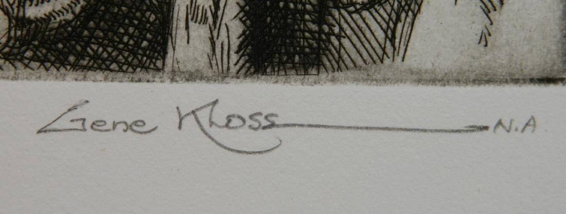 Gene Kloss etching - 3