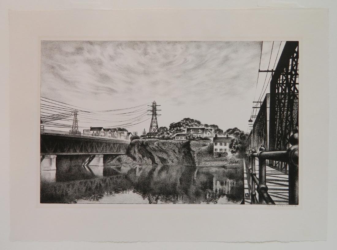 Louis Lozowick lithograph - 2