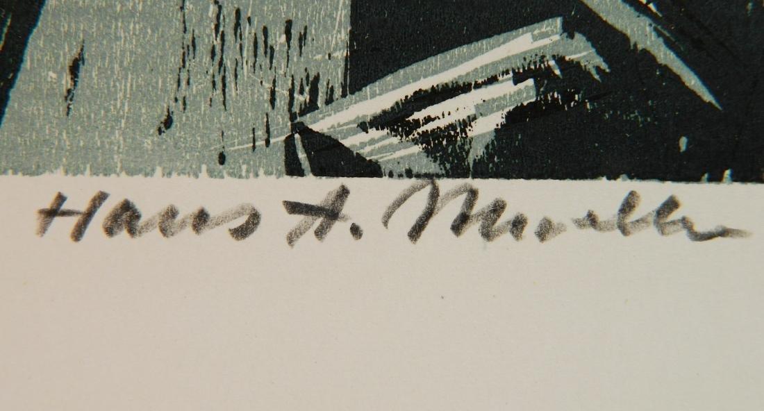 Hans Alexander Mueller chiaroscuro woodcut - 3