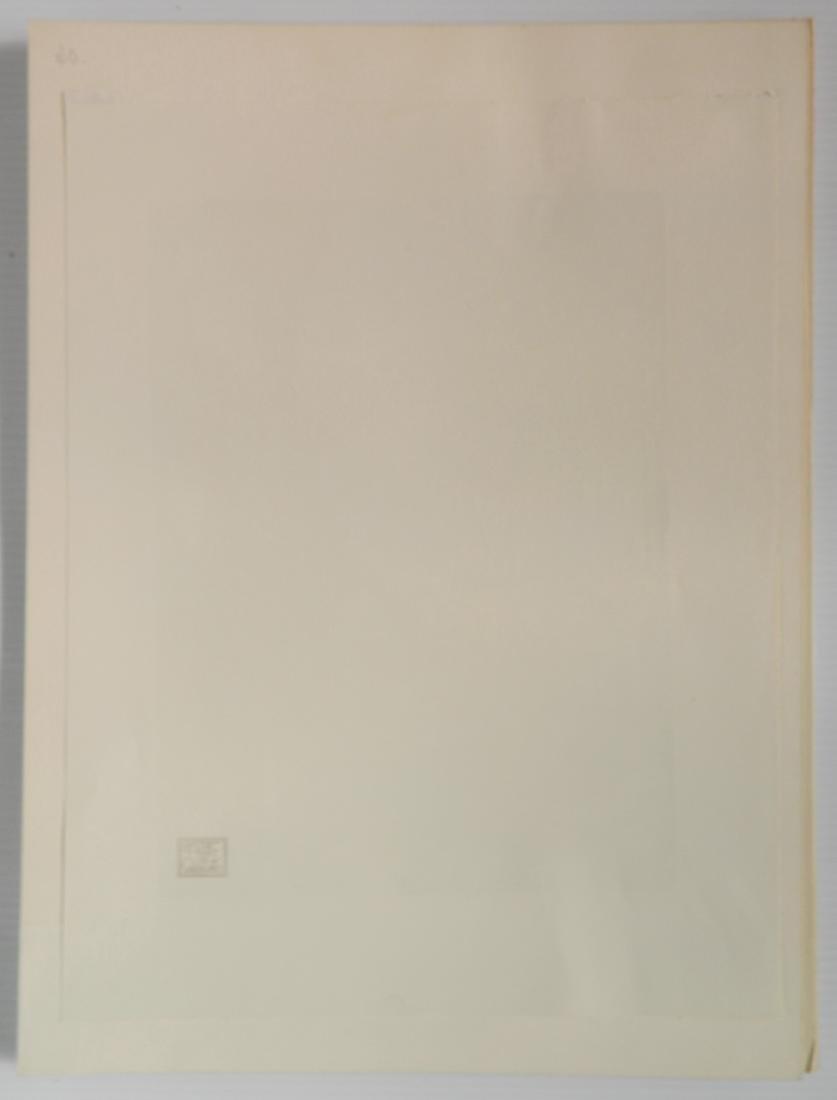 Hans Alexander Mueller chiaroscuro woodcut - 4