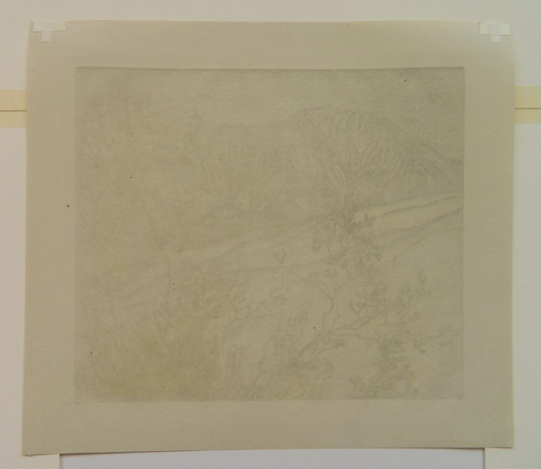 Roi Partridge etching - 4