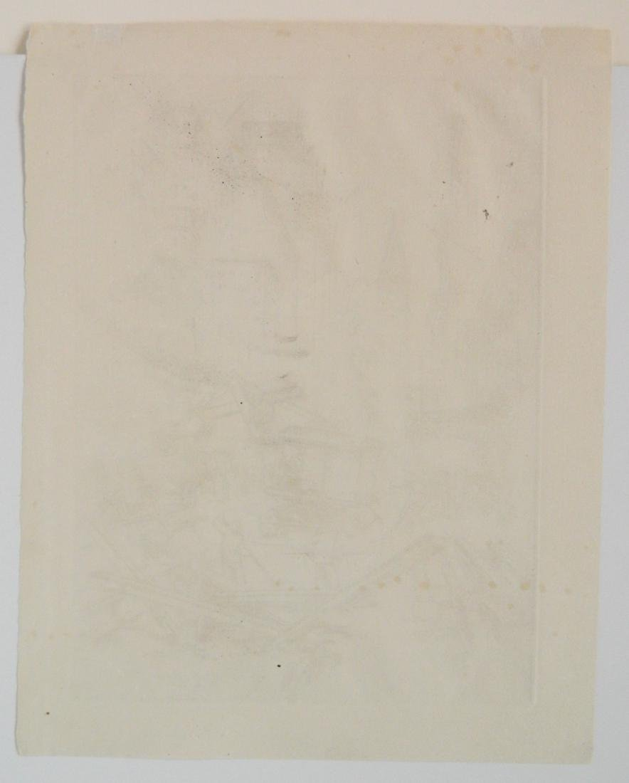 Salvatore Pinto etching - 4