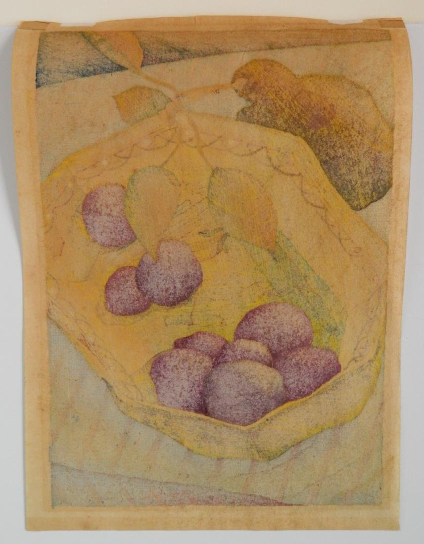 Luigi Rist woodcut - 3