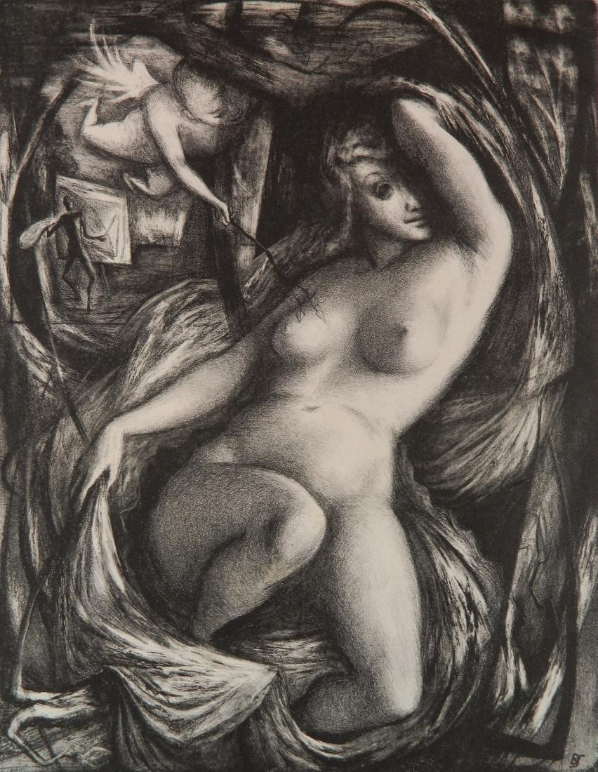 Benton M. Spruance lithograph