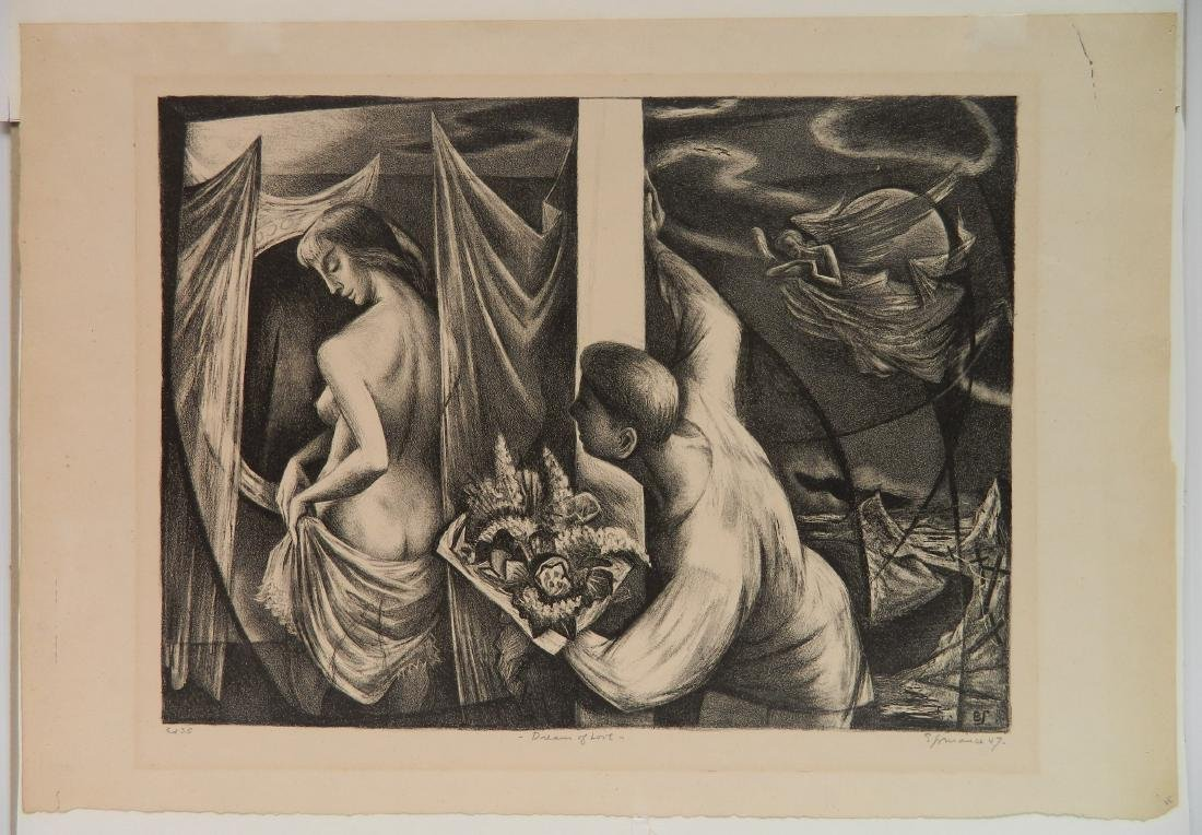 Benton M. Spruance lithograph - 2